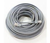 Патч-корд 30м , UTP  Cat. 5E, Telecom NA102--30M, серый