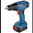 Bosch GSR 1440-LI 1.5Ah x2 Case 06019A8407