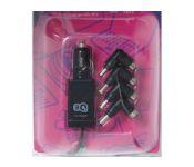 Универсальный блок питания для ноутбуков CST-050-SA12N Mini, 50Вт, 15 переходников, черный,