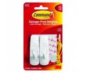 Крючок 3M Command 17001 (упак: 2шт)