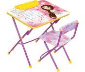 Ника КУ3/17 Мал.принцесса стол+стул