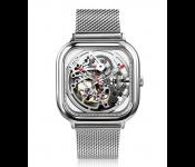 Часы Xiaomi CIGA Design Anti-Seismic Machanical Watch Wristwatch (стальной) silver