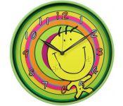 Часы настенные Бюрократ WallC-R19P/green аналоговые