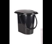 Ведро-туалет 17л М6355 Эконом