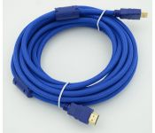 ������ HDMI Ver.1.4 Blue jack HDMI(19pin)/HDMI(19pin) (5�) ������.������ ������������ ��������