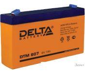 Аккумулятор для ИБП Delta DTM 607 (6В/7 А·ч)