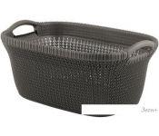 Корзина Keter Knit Laundry Basket STD 40L (темно-коричневый)