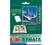 Самоклеящаяся бумага Lomond Самоклеющаяся А6 1 дел 85 г/кв.м. 25 листов (2413003)