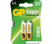 Батарейки GP Super Alkaline AA 2 шт.