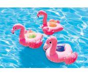 Надувной плавающий держатель для напитков ФламингоIntex 57500 в ассортименте