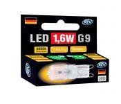 Лампочка Rev LED G9 JCD 1,6W 3000K теплый свет 220V 32439 3