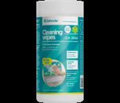 Салфетки Defender CLN 30322 чистящие влажные для мониторов всех типов в тубе (100шт)