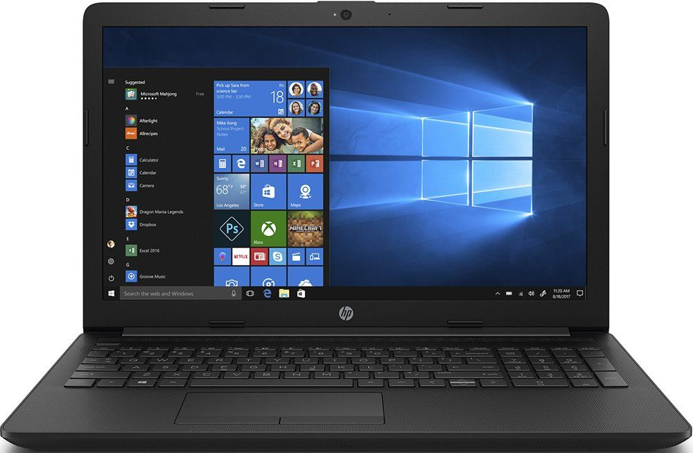 Ноутбук HP 15-da1050ur [6ND35EA] black