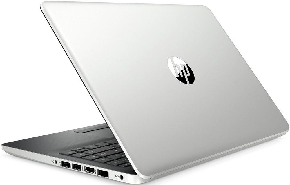 Ноутбук HP 14-dk0004ur [6NC22EA] silver