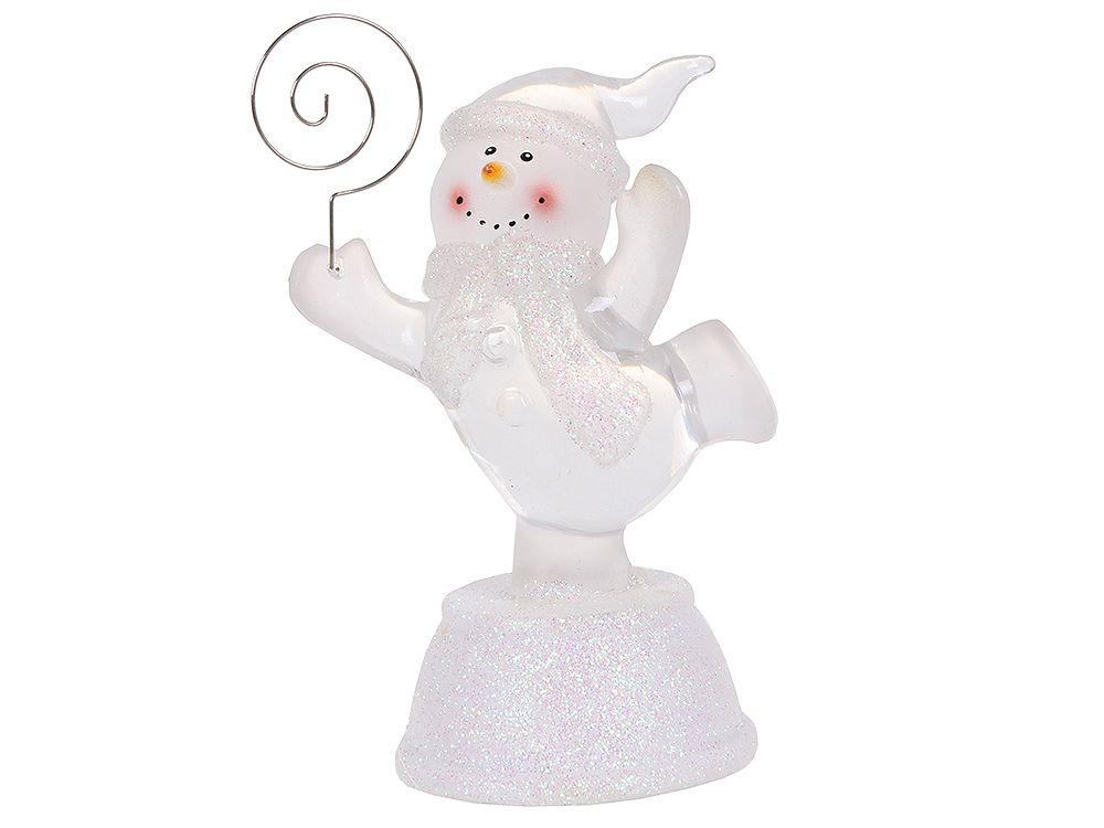 Бегущий ледяной снеговик NY5063 держатель визиток
