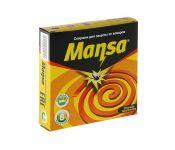 Спирали от комаров Mansa Цитронелла 2570279