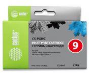 Картридж струйный Cactus CS-PGI9C голубой для Canon Pixma PRO9000 MarkII/PRO9500/PRO9500 (13.4мл)