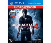 Игра Uncharted 4: Путь вора (Хиты PlayStation) PS4