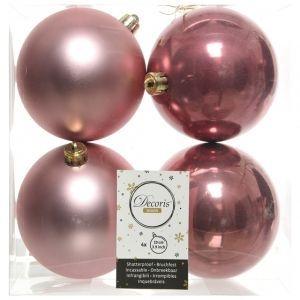 Kaemingk Набор шаров 100mm 4шт Pink 022246