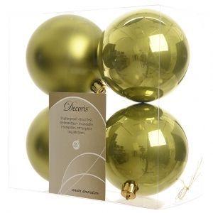 Kaemingk Набор шаров 100mm 4шт Olive 022188