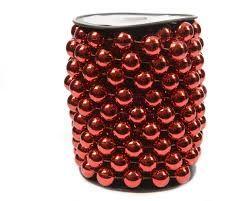Kaemingk Бусы Бисер XL 5m Red 001105