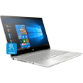 Ноутбук HP Pavilion x360 14-cd0016ur [4HA22EA] silver