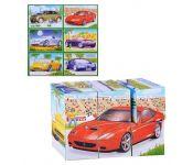 Кубики-картинки№21(модели спортивных автомобилей) Stellar 821