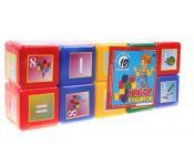 Кубики Юг-Пласт Азбука 10 шт. 5016