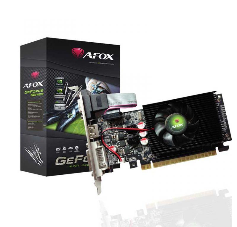 Видеокарта AFOX GT710 2GB DDR3 64bit (AF710-2048D3L1-V2)