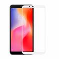 Защитное стекло 3D BINGO для Xiaomi Redmi 6 проклеивается на весь экран, белое