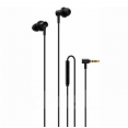 Наушники с микрофоном Xiaomi Hybrid Dual Drivers Earphones 2 (черный)