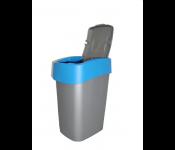 Контейнер для мусора Flip Bin 25L голубой