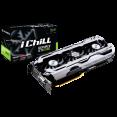 Видеокарта Innovision iChill GeForce GTX 1060 X3 9Gbps, (1556Mhz / 9Gbps) / 6GB GDDR5 / 192-bit   /