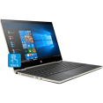 Ноутбук HP Pavilion x360 14-cd0010ur [4GU34EA] gold