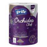Полотенца бумажные Grite Orchidea Gold chef 1 (3 слоя)