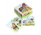 4 кубика StepPuzzle Baby Step Чей малыш? 87330
