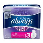 Гигиенические прокладки Always Ultra Platinum Collection Super Plus 7шт