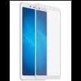 Стекло на дисплей 2D ЛИОН для Xiaomi Redmi 6a белое