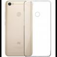 Силиконовый чехол Xiaomi Redmi Note 5A ультратонкий бело-прозрачный