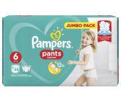 Подгузники - трусики Pampers Pants Extra Large 6 (15+ кг) 44шт.
