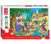 """Мозаика Step Puzzle 120 (эл-тов) """"Любимые герои"""" 75030"""