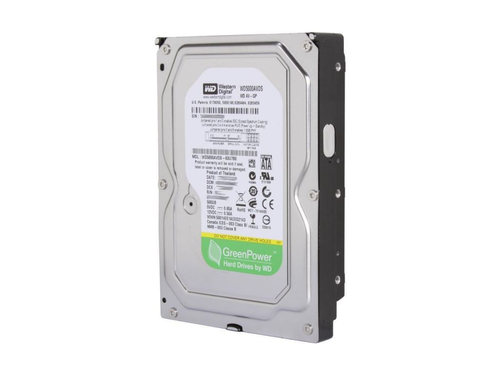 Жест.диск Western Digital 500GB WD5000AVDS PULL