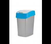 Контейнер для мусора Flip Bin 10L голубой