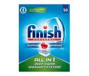 Таблетки для посудомоечных машин Finish All in 1 без запаха 50 шт.