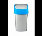 Контейнер для мусора Flip Bin 50L голубой