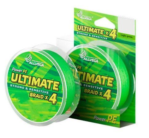 Леска Allvega Ultimate 0.20mm 92m 12.7kg Light Green U92LGR020