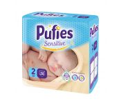 Подгузники детские Pufies Sensitive Mini 24 (3-6 кг)