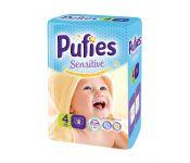 Подгузники детские Pufies Sensitive Maxi 18 (7-14 кг)