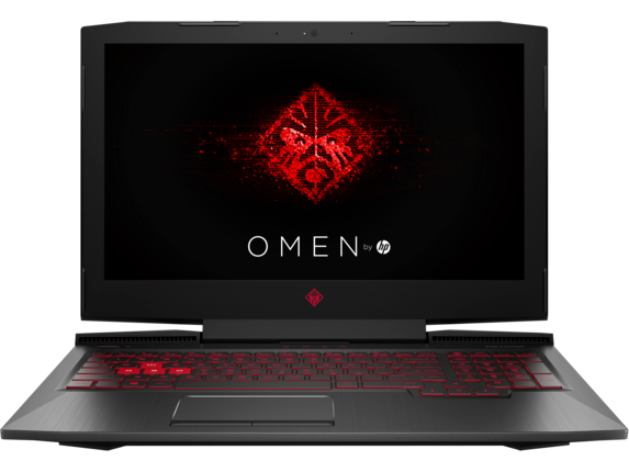 Ноутбук HP Omen 15-ce074ur [4US32EA] black