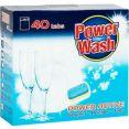 Таблетки для посудомоечных машин Power Wash 40шт